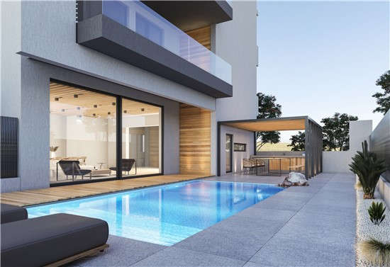 Architectural Design & Construction, Detached house in Glyfada