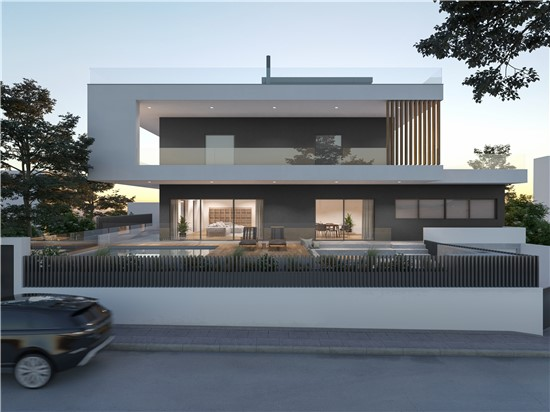 Architectural design proposal for residence in Varkiza