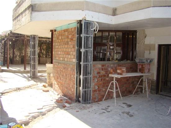 Bricklaying construction